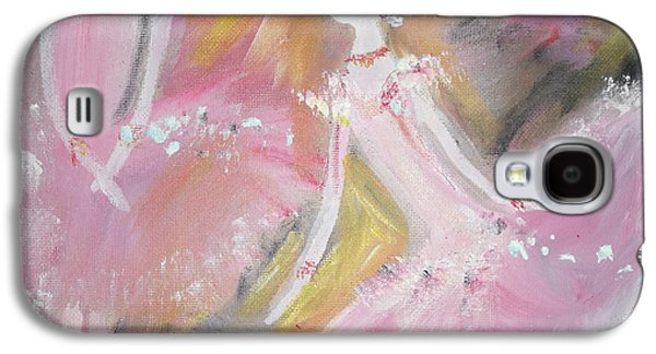 Dance Ballet Roses Galaxy S4 Cases - Love Rose Ballet Galaxy S4 Case by Judith Desrosiers