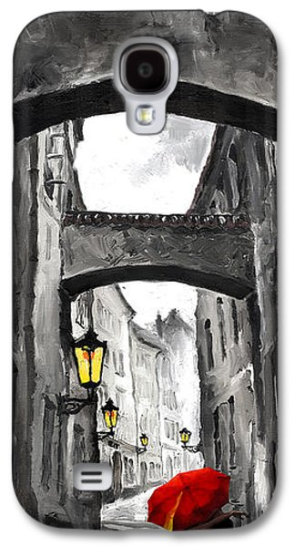 People Mixed Media Galaxy S4 Cases - Love Story Galaxy S4 Case by Yuriy  Shevchuk