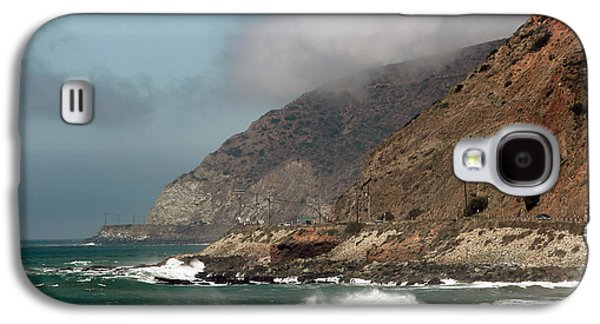 Pch Galaxy S4 Cases - Low Clouds on the Pacific Coast Highway Galaxy S4 Case by John Rizzuto