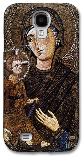 Orthodox Icon Galaxy S4 Cases - Madonna Icon Galaxy S4 Case by Granger