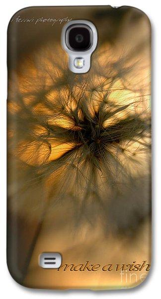 Anticipation Photographs Galaxy S4 Cases - Make A Wish Galaxy S4 Case by Vicki Ferrari
