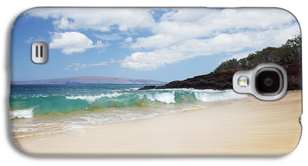Beach Landscape Galaxy S4 Cases - Makena Coast Galaxy S4 Case by Jenna Szerlag