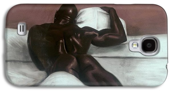 African-americans Pastels Galaxy S4 Cases - Male Nude Galaxy S4 Case by L Cooper