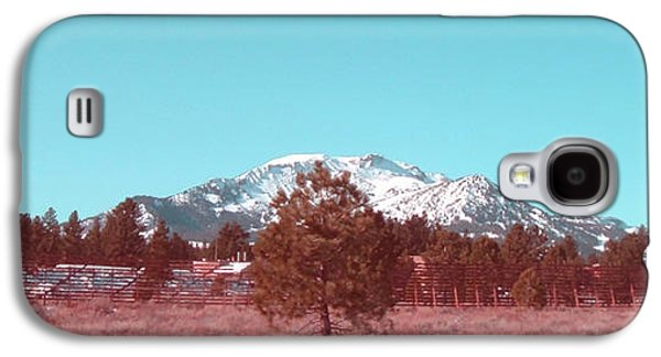 Sun Galaxy S4 Cases - Mammoth Mountain Galaxy S4 Case by Naxart Studio