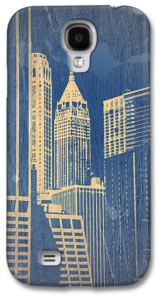 Capital Galaxy S4 Cases - Manhattan 1 Galaxy S4 Case by Naxart Studio