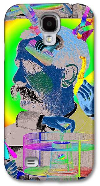 Digital Collage Galaxy S4 Cases - Manipulation Galaxy S4 Case by Eric Edelman
