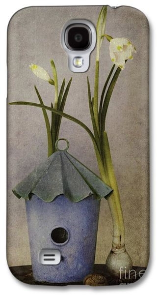 Floral Digital Art Galaxy S4 Cases - March Galaxy S4 Case by Priska Wettstein