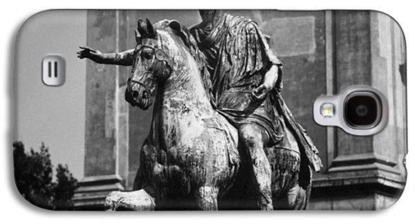 Statue Portrait Galaxy S4 Cases - Marcus Aurelius Galaxy S4 Case by Granger