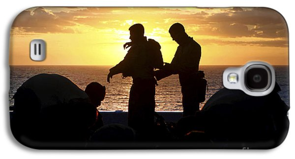 Buy Galaxy S4 Cases - Marines Prepare Their Gear Galaxy S4 Case by Stocktrek Images