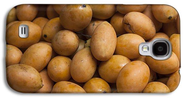 Market Mangoes II Galaxy S4 Case by Zoe Ferrie