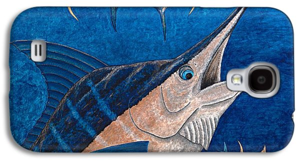 Marlin Galaxy S4 Cases - Marlin and Ahi Galaxy S4 Case by Carol Lynne