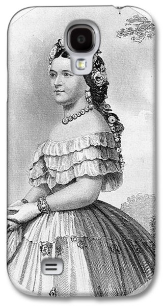 America First Party Galaxy S4 Cases - Mary Todd Lincoln Galaxy S4 Case by Granger