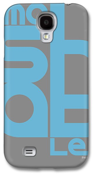 Social Galaxy S4 Cases - Mashable Poster Galaxy S4 Case by Naxart Studio
