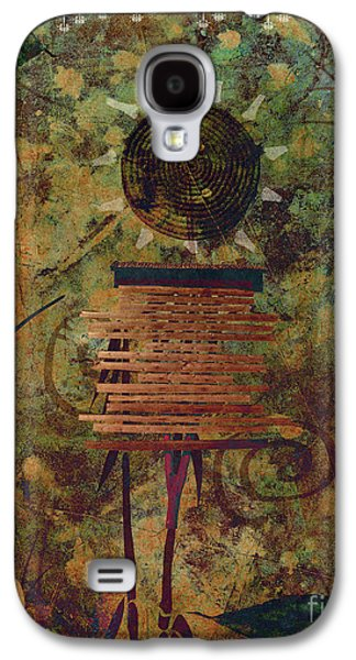 Photo Manipulation Photographs Galaxy S4 Cases - Maskerade Galaxy S4 Case by Aimelle