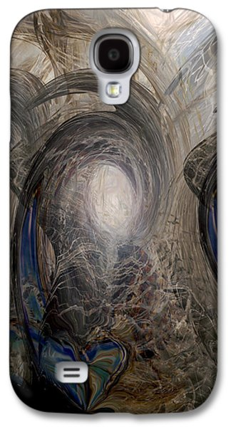 Abstract Digital Galaxy S4 Cases - Massive Attack Galaxy S4 Case by Linda Sannuti