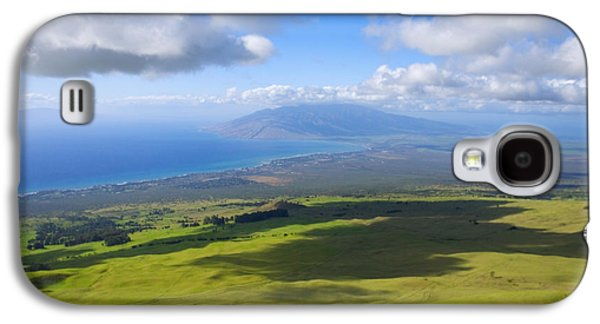 Pastureland Galaxy S4 Cases - Maui Aerial Galaxy S4 Case by Ron Dahlquist - Printscapes