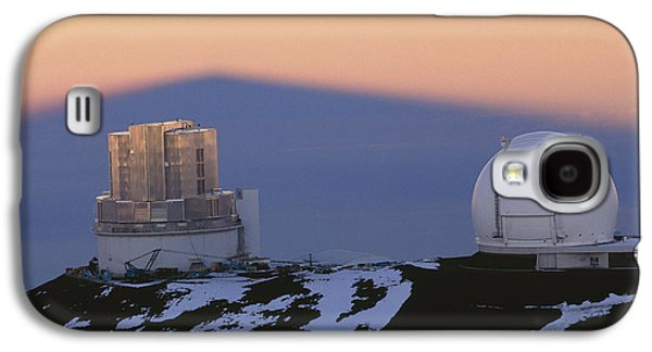Keck Galaxy S4 Cases - Mauna Kea Observatory, Hawaii Galaxy S4 Case by G. Brad Lewis