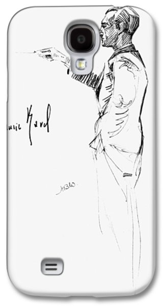 Autographed Galaxy S4 Cases - Maurice Joseph Ravel Galaxy S4 Case by Granger