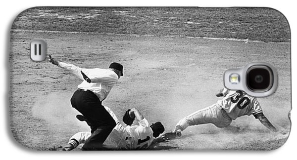 Base Path Galaxy S4 Cases - Maury Wills (1932- ) Galaxy S4 Case by Granger