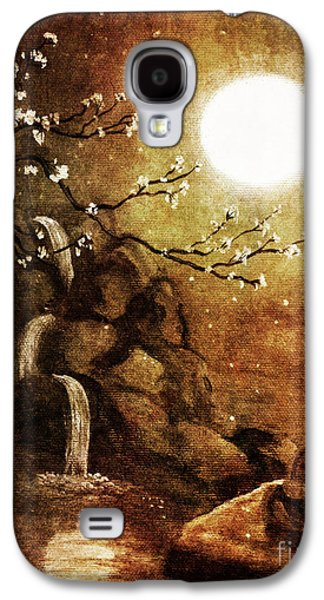 Meditation Beyond Time Galaxy S4 Case by Laura Iverson