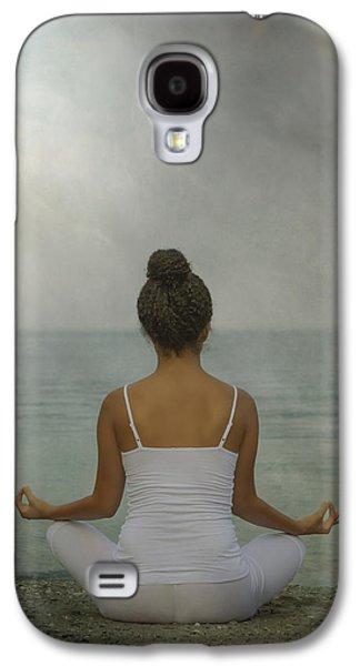 Spaghetti Galaxy S4 Cases - Meditation Galaxy S4 Case by Joana Kruse