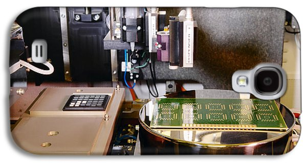Component Photographs Galaxy S4 Cases - Mems Production, Flip Chip Bonding Galaxy S4 Case by Colin Cuthbert
