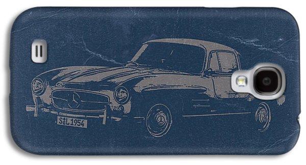 Concept Photographs Galaxy S4 Cases - Mercedes Benz 300 SL Galaxy S4 Case by Naxart Studio
