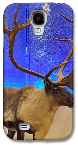 Galaxy S4 Cases - Merry Christmoose Galaxy S4 Case by Teresa Blanton