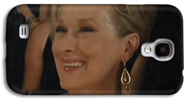 Backstage Photographs Galaxy S4 Cases - Meryl Streep Portrait  Galaxy S4 Case by Colette V Hera  Guggenheim