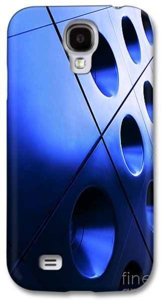 Grid Photographs Galaxy S4 Cases - Metallic background Galaxy S4 Case by Jane Rix