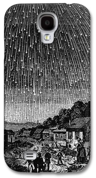 1833 Galaxy S4 Cases - Meteor Shower, 1833 Galaxy S4 Case by Granger