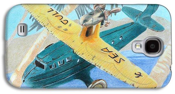 Toy Boat Galaxy S4 Cases - Miami-Cuba Galaxy S4 Case by Glenda Zuckerman