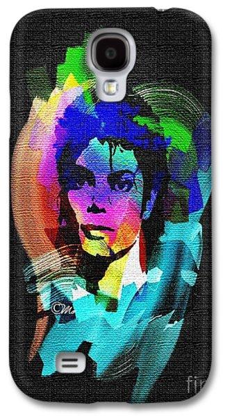 Mj Digital Art Galaxy S4 Cases - Michael Jackson Galaxy S4 Case by Mo T