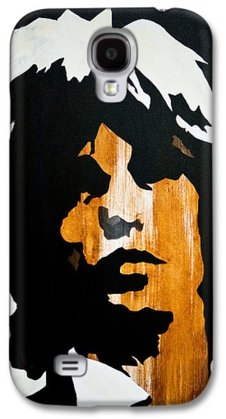 Rolling Stones Paintings Galaxy S4 Cases - Mick Jagger Get what you want Galaxy S4 Case by Brad Jensen