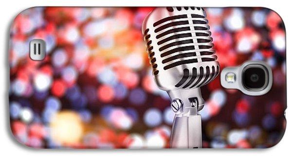 Voice Galaxy S4 Cases - Microphone Galaxy S4 Case by Setsiri Silapasuwanchai