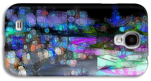 Stampede Digital Art Galaxy S4 Cases - Midway memories - Bright lights Galaxy S4 Case by Stuart Turnbull