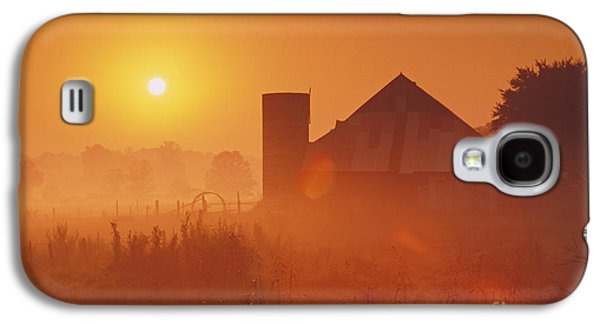 Indiana Scenes Galaxy S4 Cases - Midwestern Rural Sunrise - FS000405 Galaxy S4 Case by Daniel Dempster