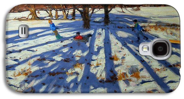 Midwinter Galaxy S4 Case by Andrew Macara