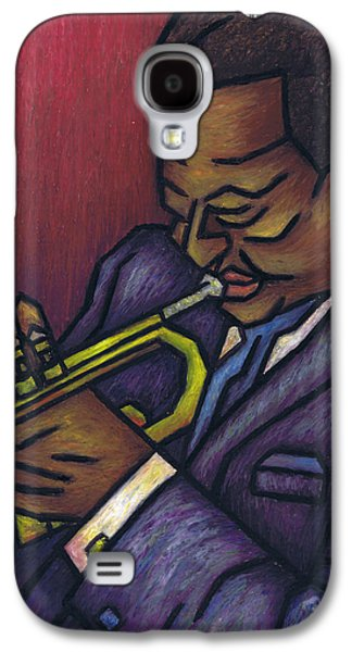 Music Pastels Galaxy S4 Cases - Miles Davis Galaxy S4 Case by Kamil Swiatek