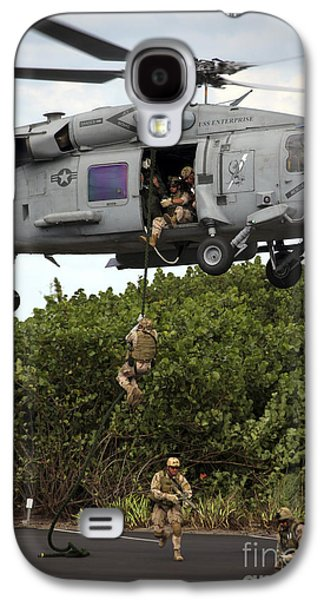Fort Pierce Galaxy S4 Cases - Military Reserve Navy Seals Demonstrate Galaxy S4 Case by Michael Wood
