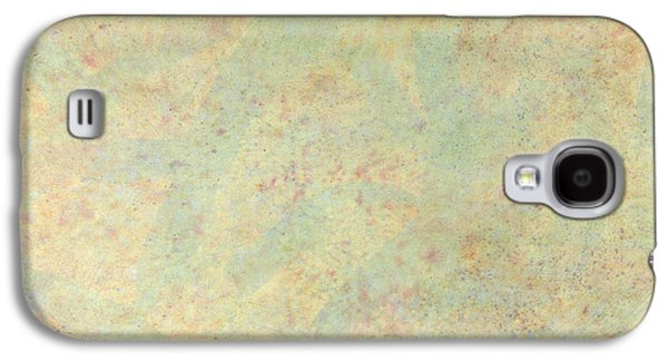 Subtle Colors Galaxy S4 Cases - Minimal number 4 Galaxy S4 Case by James W Johnson