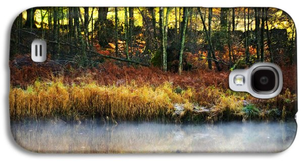 Mist Galaxy S4 Cases - Mist On The Water Galaxy S4 Case by Meirion Matthias