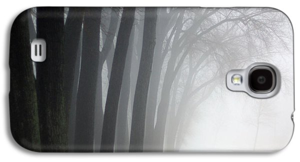 Contemplative Photographs Galaxy S4 Cases - Misty Moments Galaxy S4 Case by Linda Mishler