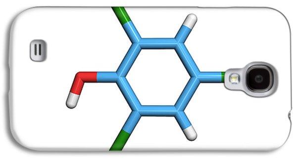 Component Photographs Galaxy S4 Cases - Molecule Of A Component Of Tcp Antiseptic Galaxy S4 Case by Dr Tim Evans