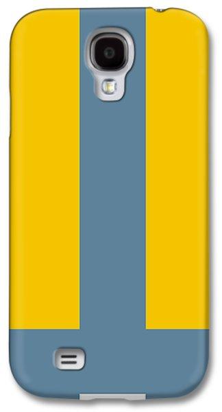 Forms Digital Art Galaxy S4 Cases - Molto Galaxy S4 Case by Naxart Studio