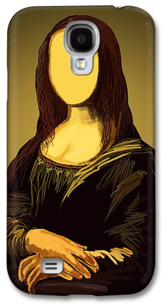 Abstract Pastels Galaxy S4 Cases - Mona Lisa Galaxy S4 Case by Setsiri Silapasuwanchai
