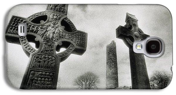 Monasticism Galaxy S4 Cases - Monasterboice, Co Louth, Ireland, High Galaxy S4 Case by Sici