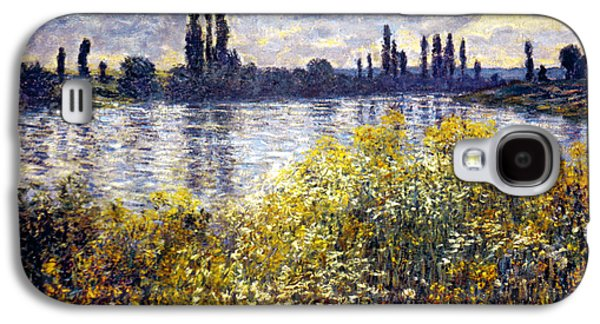Vetheuil Photographs Galaxy S4 Cases - Monet: Seine/vetheil, 1880 Galaxy S4 Case by Granger