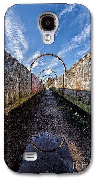 Colour Image Photographs Galaxy S4 Cases - Monkey Bridge Galaxy S4 Case by John Farnan