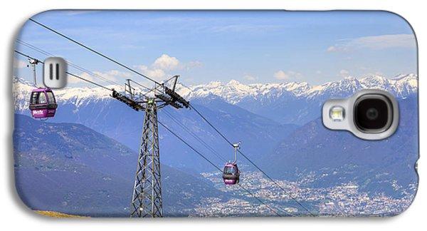 Rivera Galaxy S4 Cases - Monte Tamaro - Switzerland Galaxy S4 Case by Joana Kruse